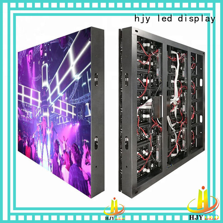 Haojingyuan modern outdoor led display outdoor use for hotels