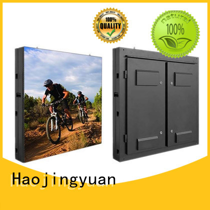 Haojingyuan mobile outdoor led display Suppliers for school