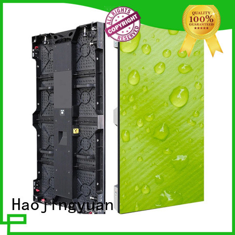 Haojingyuan full led panels for stage vivid colors for concert