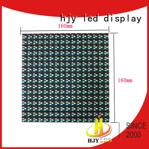 Haojingyuan unique design led road display promotion for lobby