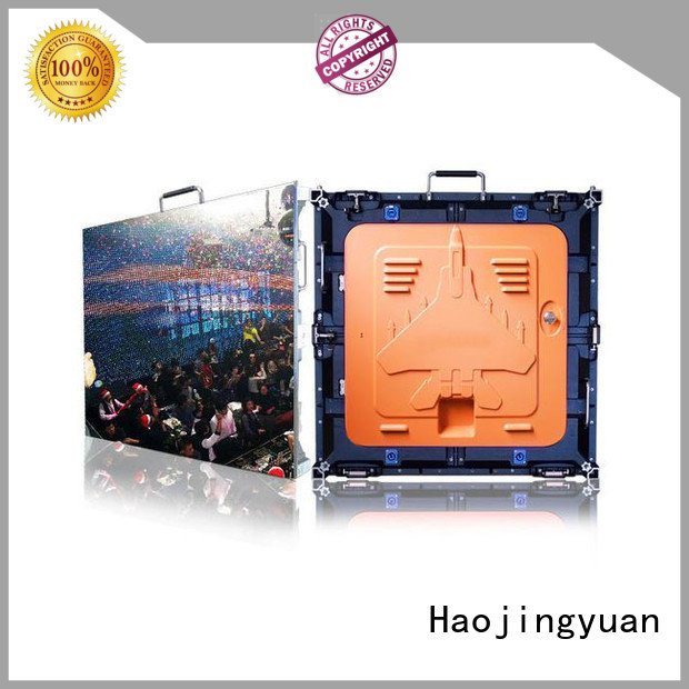 Haojingyuan Top high definition led screens company for taxi
