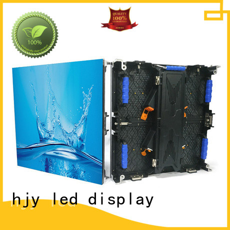 Haojingyuan simple led wall stage directly sale for shopping mall