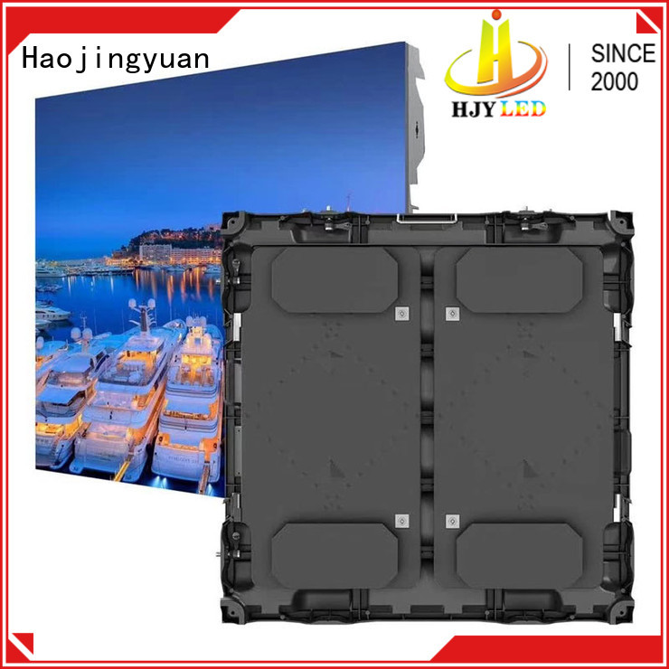 display football stadium led display supplier for party Haojingyuan