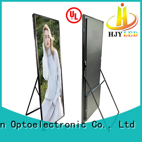 Haojingyuan New mobile led display factory for birthday party