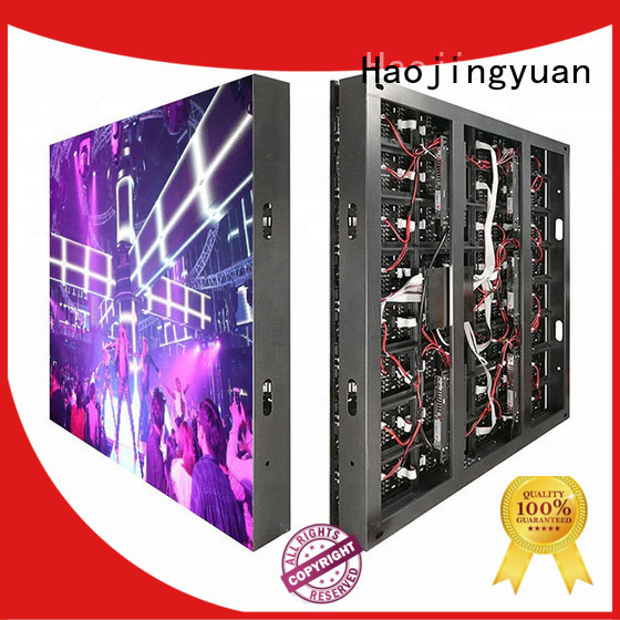 Haojingyuan full led display fixed Suppliers for school