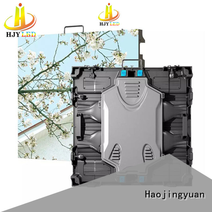 Haojingyuan indoor small pixel led display configuration for building