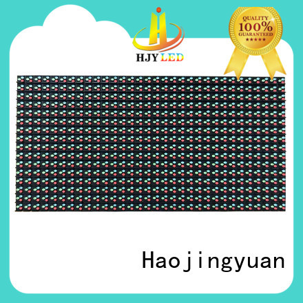 Haojingyuan Latest dip led module Suppliers for cafeteria