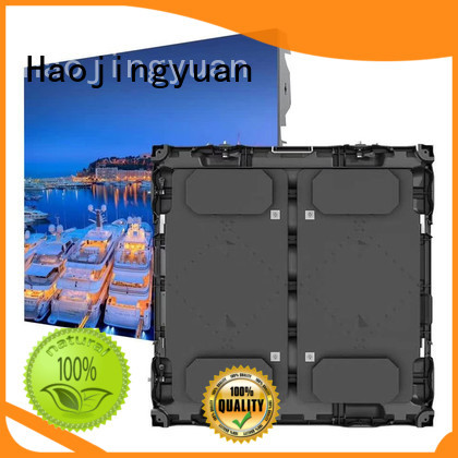 Haojingyuan Wholesale large stadium led display screen company for party