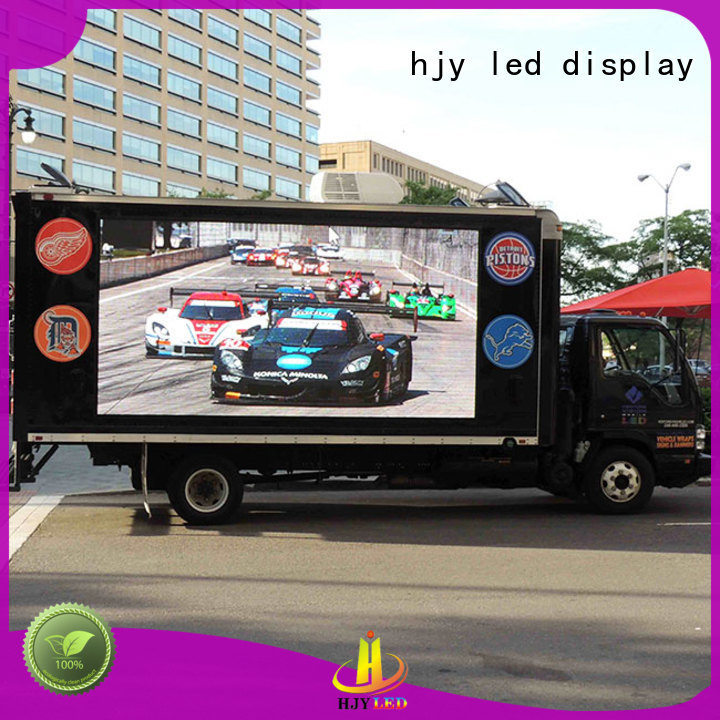 widely used mobile led display display custom outdoor for birthday party
