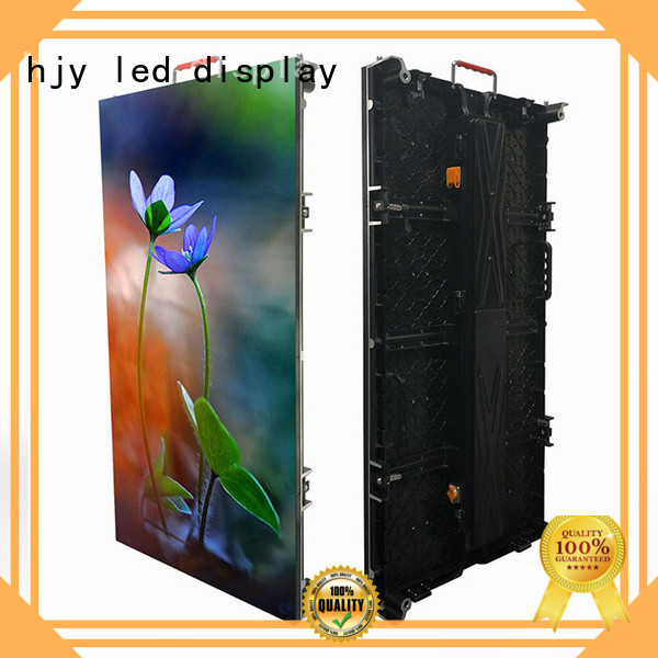 Haojingyuan rental led wall stage directly sale for shopping mall