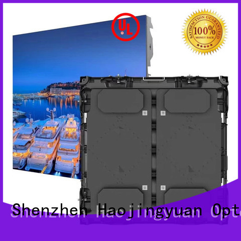 Haojingyuan unique design football stadium led display various size for party