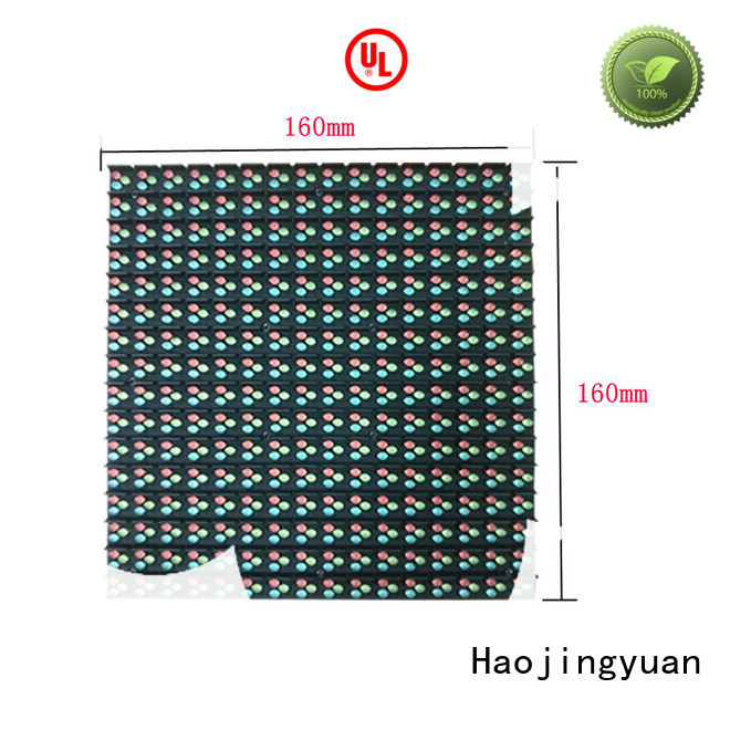 Haojingyuan 160160mm led road display for business for hotels