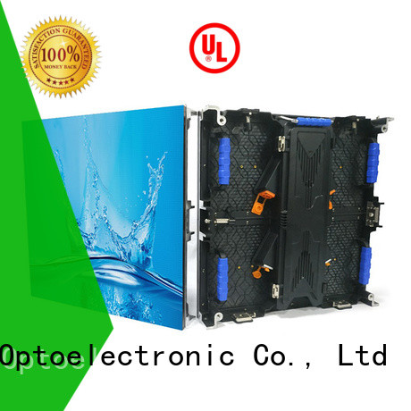 Haojingyuan popular led screen on stage from China for shopping mall