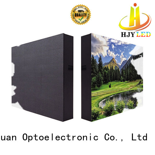 customized advertising led display fixed strong theme parks for school