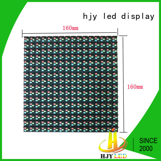 Haojingyuan unique design display LED fixed promotion for lobby