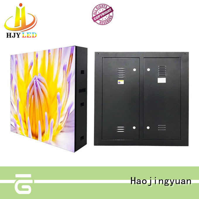 Haojingyuan advertising led road display promotion for lobby