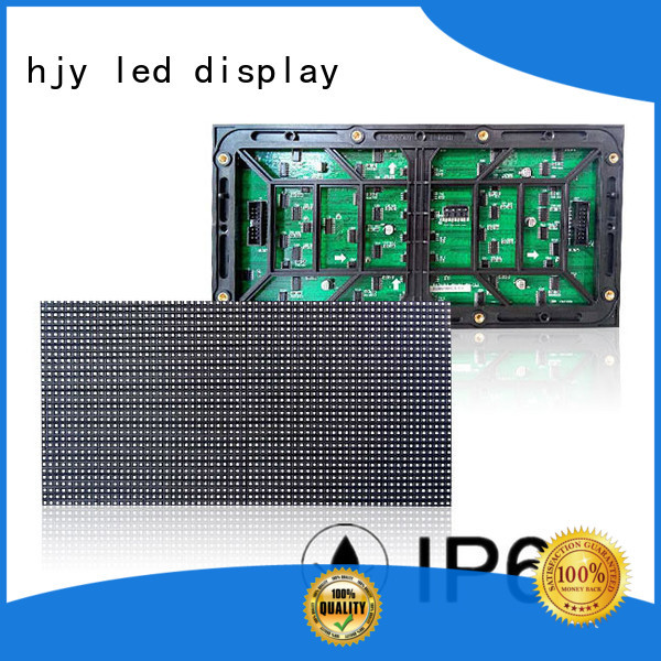 Haojingyuan high quality dip led module series for cafeteria