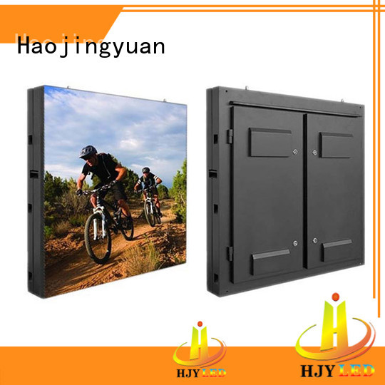 Haojingyuan customized led display sign led fixed theme parks for school