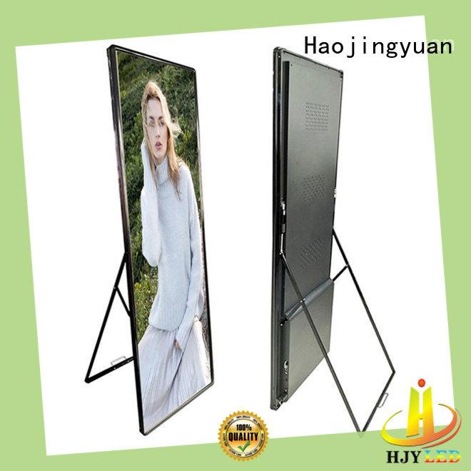 Haojingyuan outdoor mobile led display custom outdoor for school