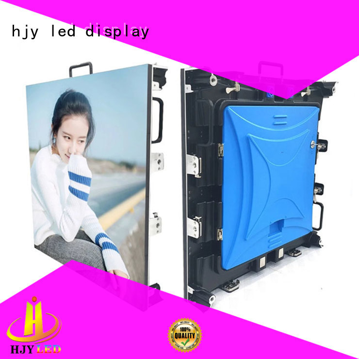 Haojingyuan color outdoor stage rental LED company for stadium