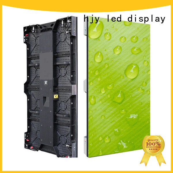 outdoor Stage rental led display directly sale for stadium Haojingyuan