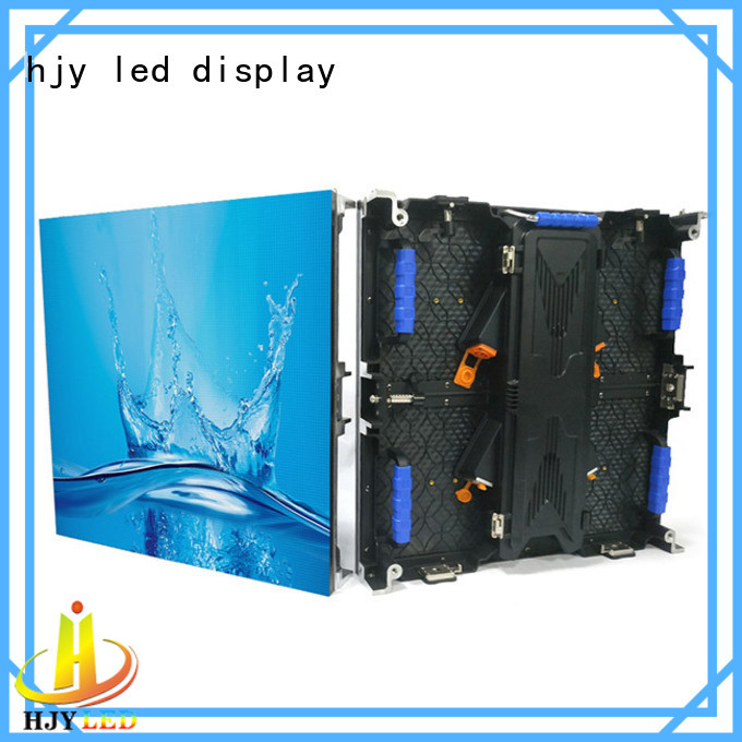 Haojingyuan rental led screen on stage from China