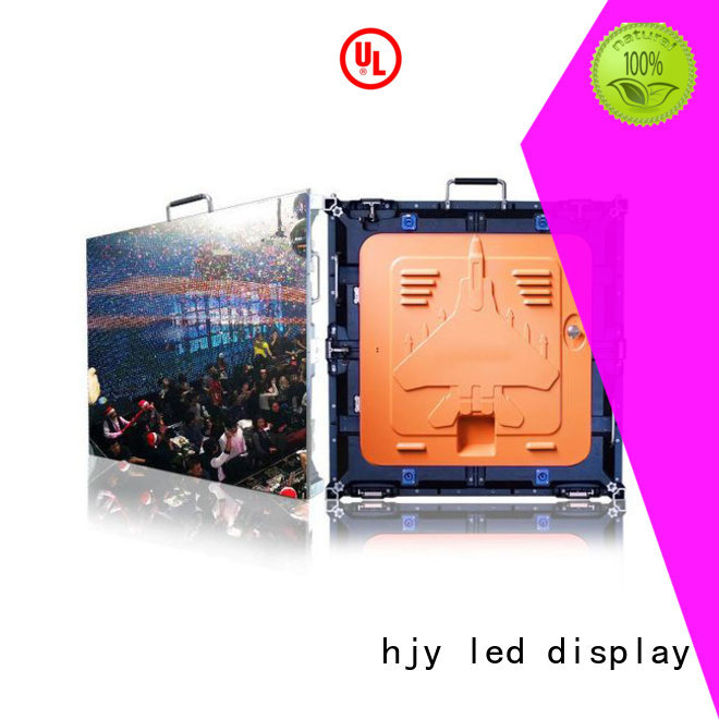 different style high resolution led display elegant indoor for building