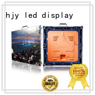Haojingyuan screen HD led display panel manufacturer for taxi