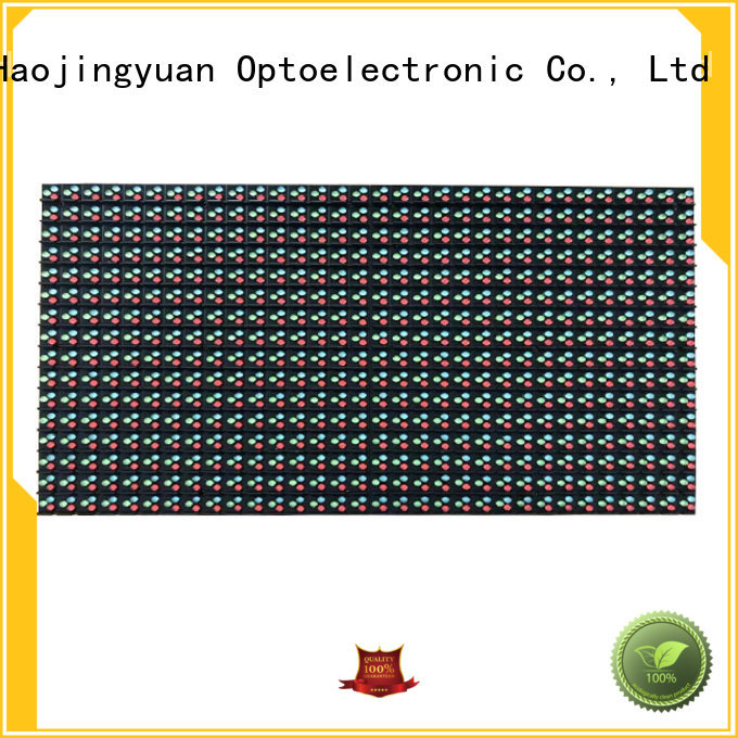 Haojingyuan red smd led module technology for street