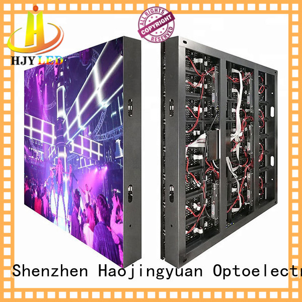 Haojingyuan Top led display fixed factory for school
