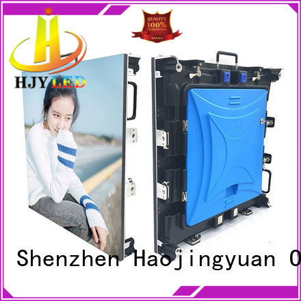 Haojingyuan New led stage backdrop screen factory for stadium