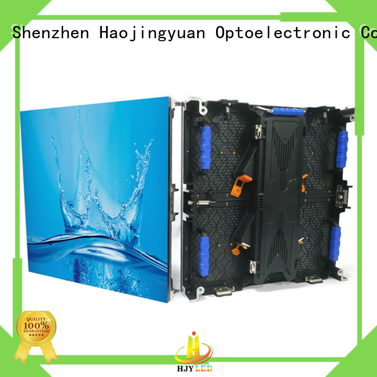 Haojingyuan rental led screen on stage manufacturers for stadium
