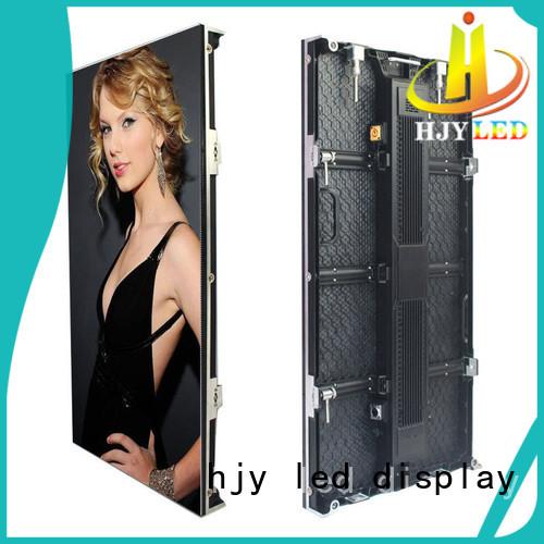 p391 super slim led display directly sale Haojingyuan