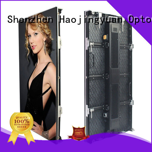 Haojingyuan higher efficiency outdoor stage rental LED from China for stadium