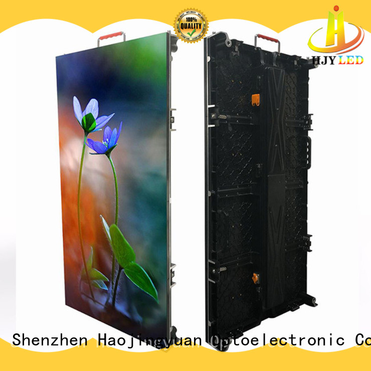 Haojingyuan outdoor led panels for stage directly sale for stadium