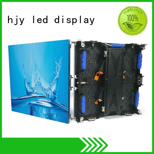 fashionable led screen on stage directly sale