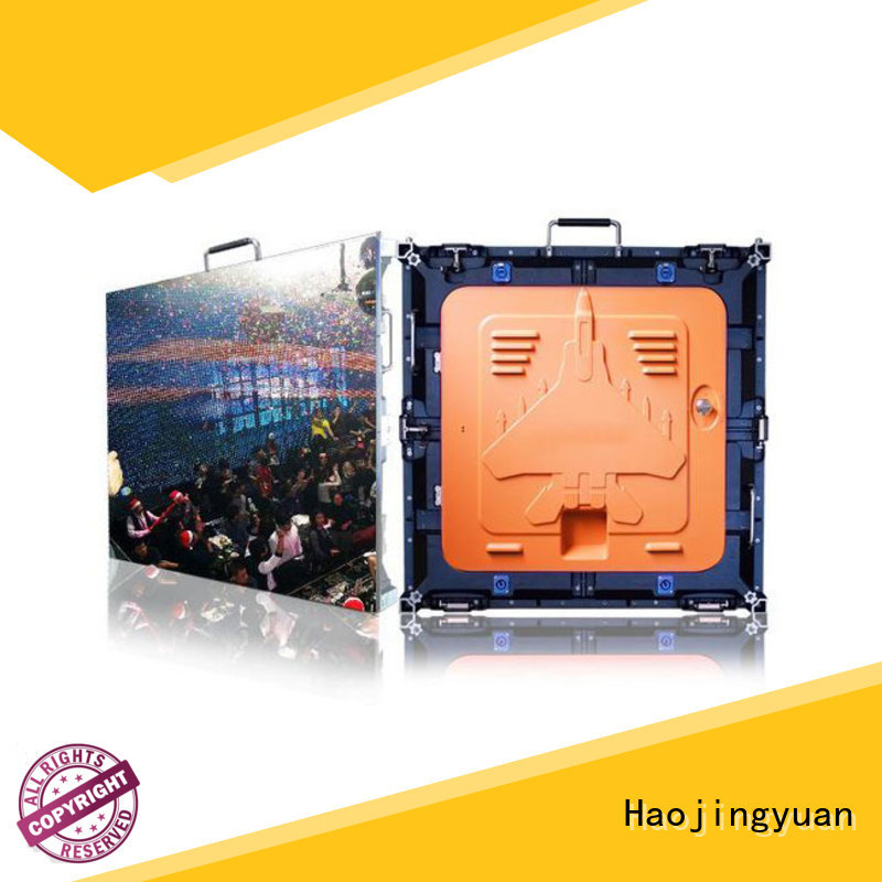 Haojingyuan different style High resolution led display indoor for taxi