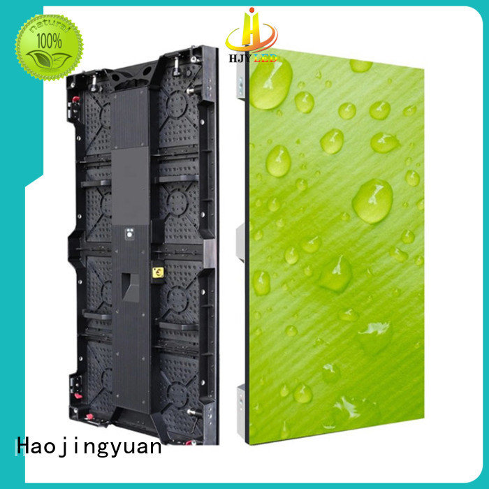 simple led wall stage wall directly sale for shopping mall