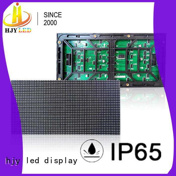 Haojingyuan high quality full color led display module 320x160mm for Street