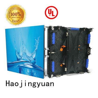 Haojingyuan fashionable stage led screen vivid colors for stadium