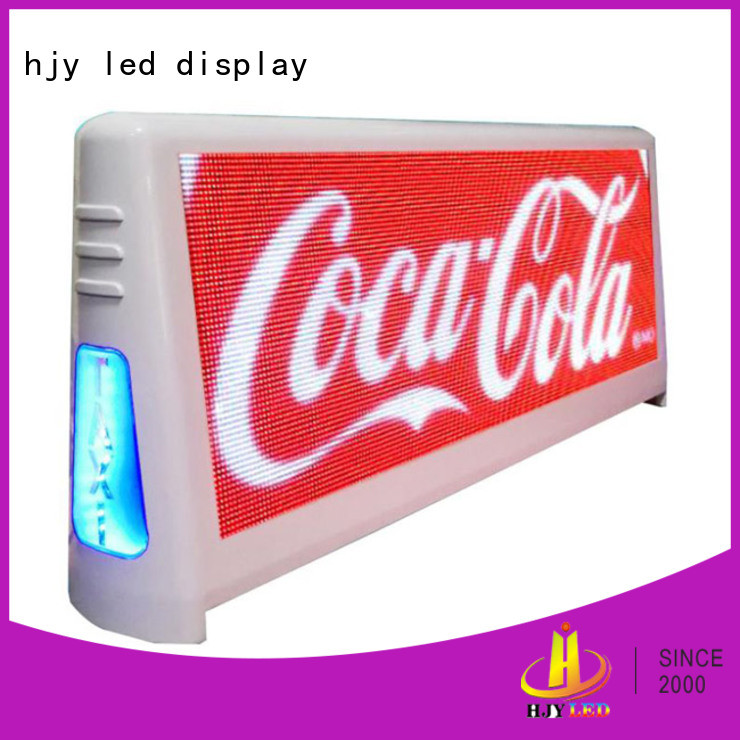 technical Taxi led display displayproducts for Restaurant