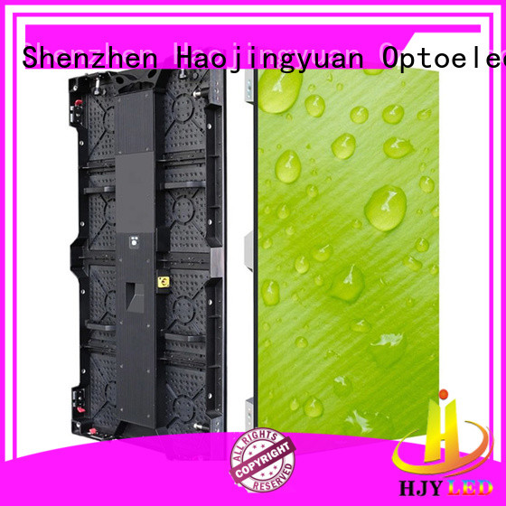 Haojingyuan display led stage backdrop screen vivid colors for concert