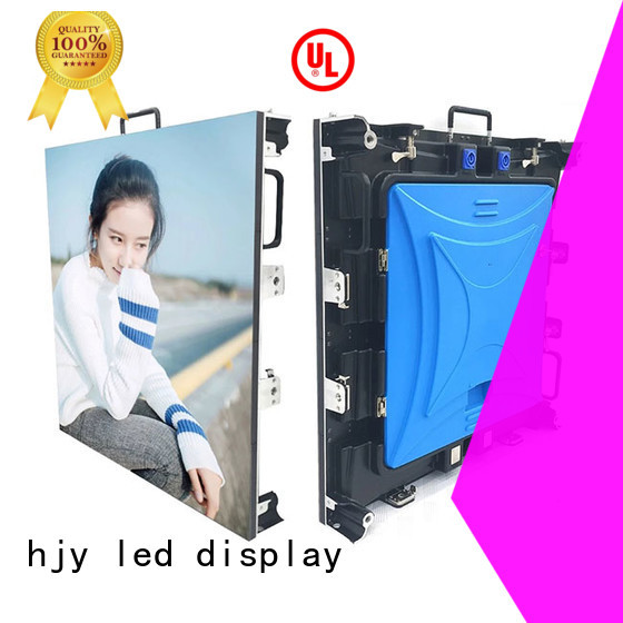 Haojingyuan display stage rental led display Supply for concert