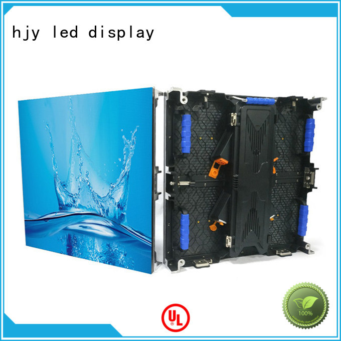 Haojingyuan definition led wall stage Supply for stadium