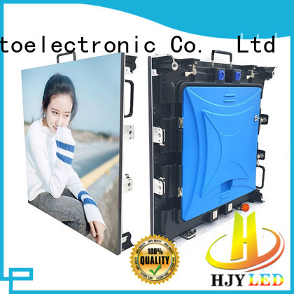 Haojingyuan fashionable stage rental led display directly sale for concert