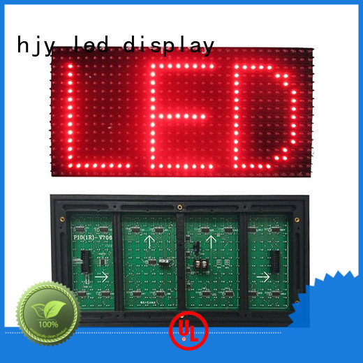 Haojingyuan white led display module Suppliers for cafeteria