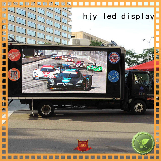 Haojingyuan New truck mobile led display Suppliers for for house