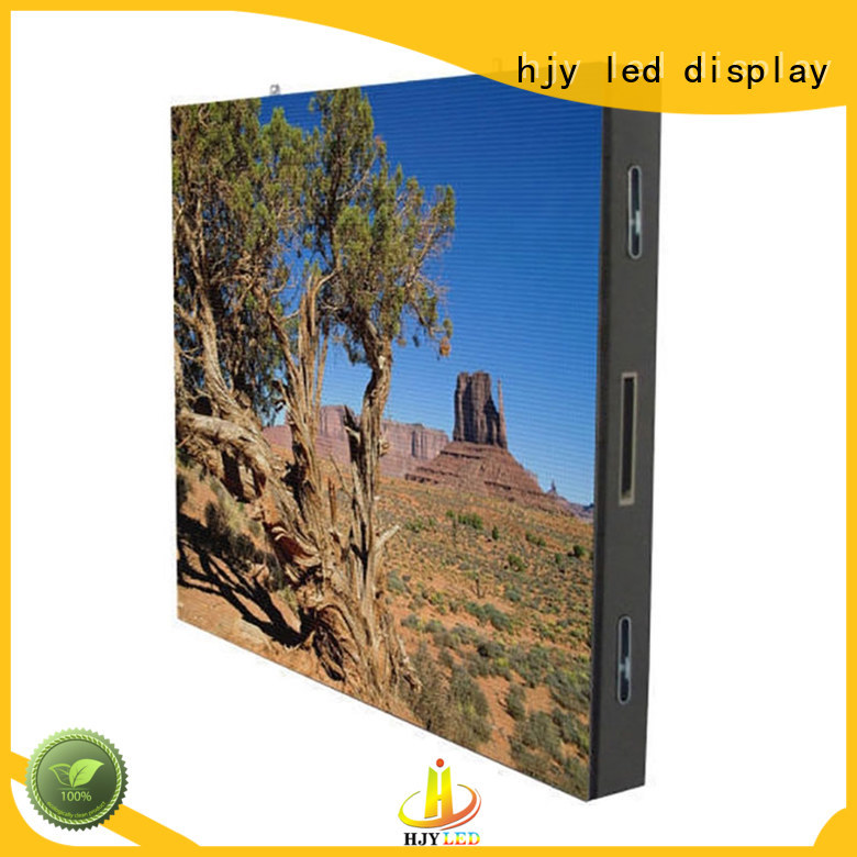 High-quality fixed led display sale factory for hotels