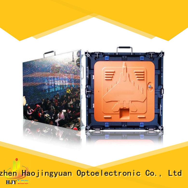 Haojingyuan led HD led display panel manufacturer for building