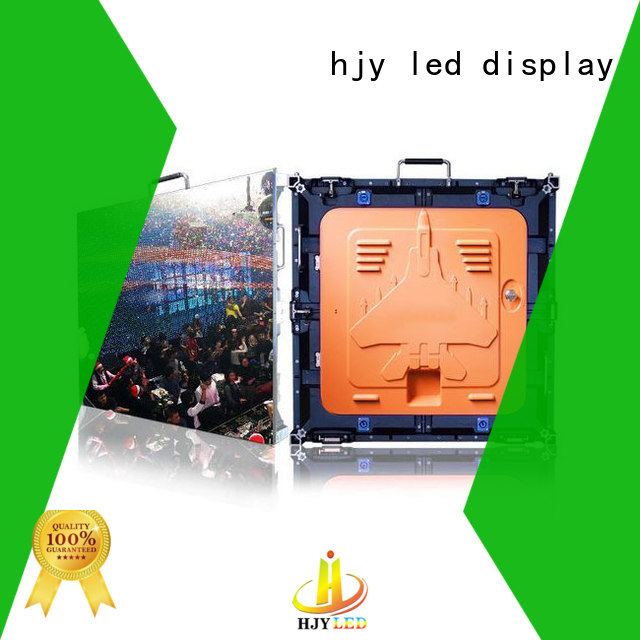 Haojingyuan New high resolution led display company for building